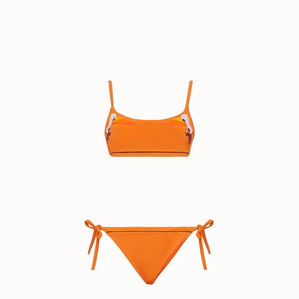FENDI BIKINI - Bikini aus Lycra in Orange - view 1 small thumbnail