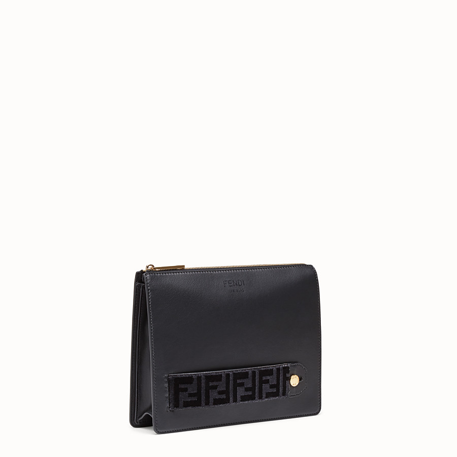 FENDI CLUTCH - Fendi clutch for Jackson Wang in leather - view 2 detail
