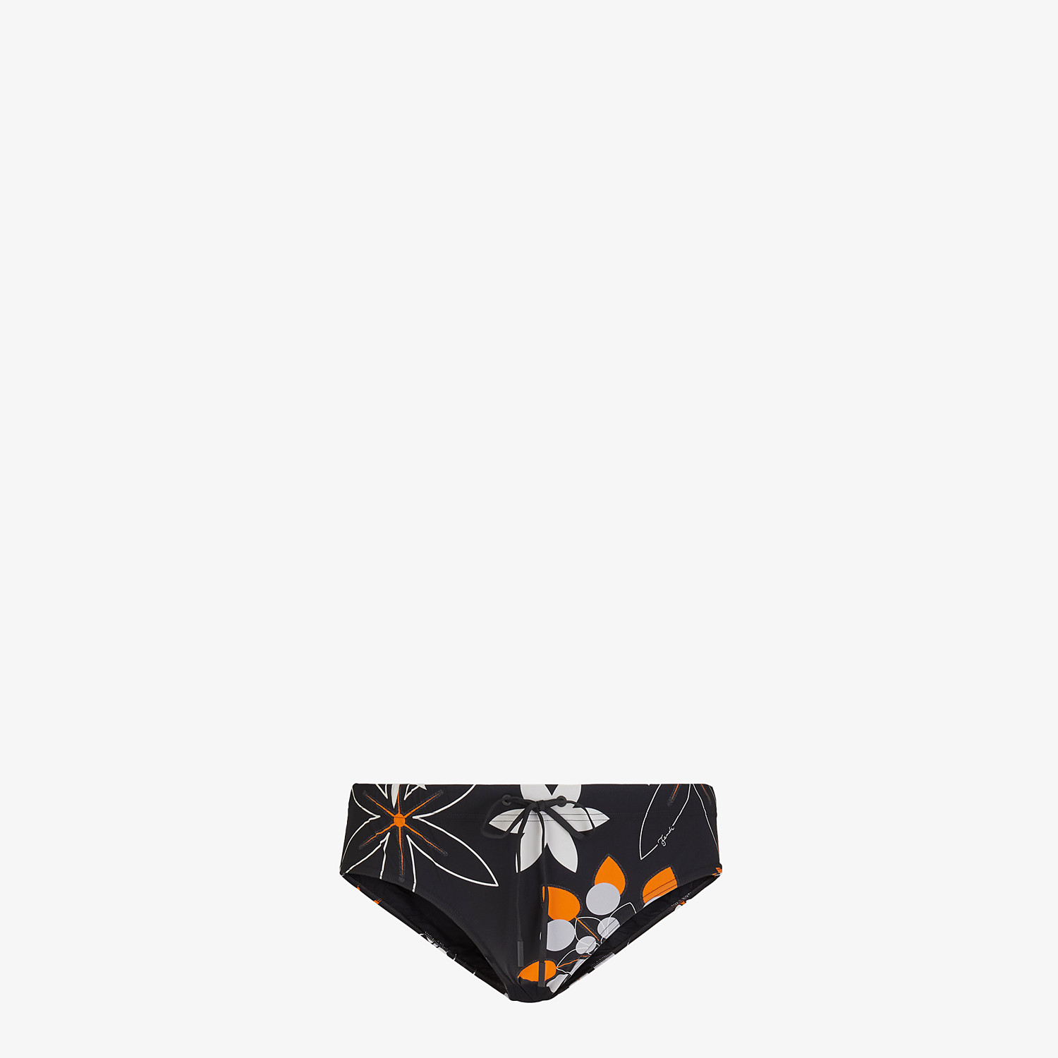 FENDI SWIM BRIEFS - Multicolor Lycra® swimsuit - view 1 detail