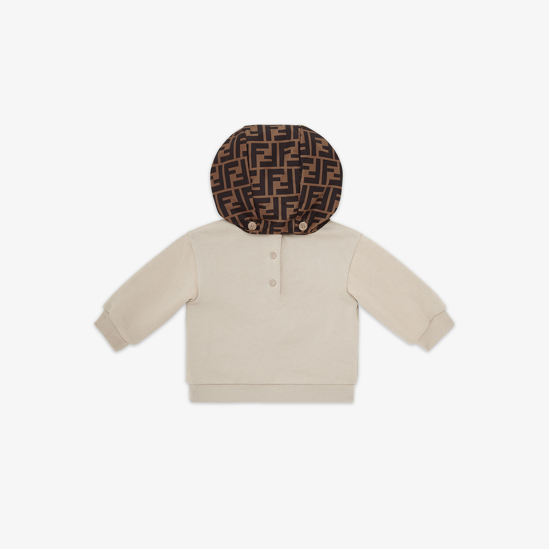 FENDI BABY SWEATSHIRT - Jersey and nylon baby sweatshirt - view 2 detail