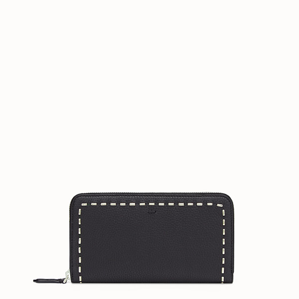 FENDI WALLET - Black zip-around - view 1 small thumbnail
