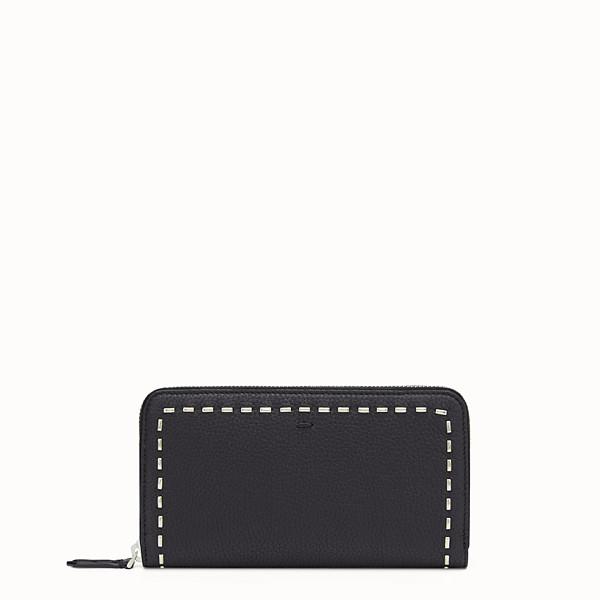FENDI WALLET - Black zip-around - view 1 small thumbnail