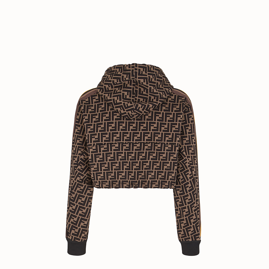 FENDI SWEATSHIRT - Fendi Roma Amor cotton sweatshirt - view 2 detail