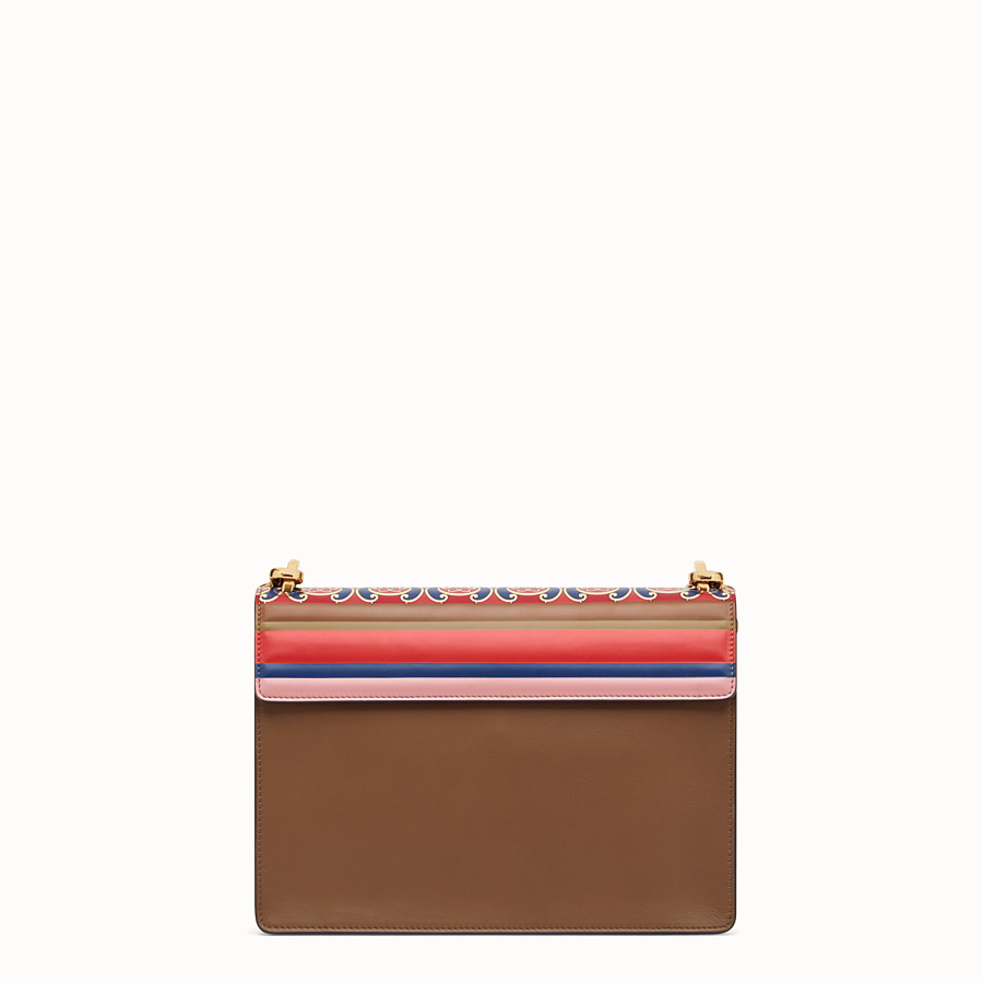 FENDI KAN U - Multicolour leather bag - view 4 detail