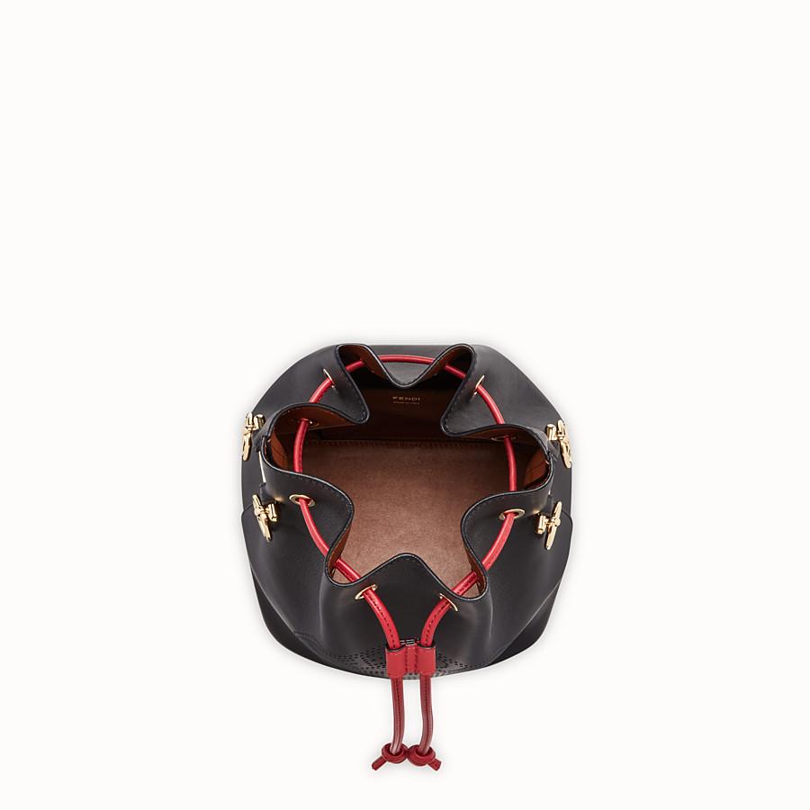 FENDI MON TRESOR - Black leather bag - view 5 detail