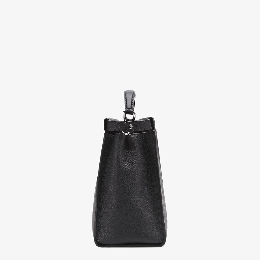 FENDI PEEKABOO ICONIC MEDIUM - Black Selleria bag - view 2 detail