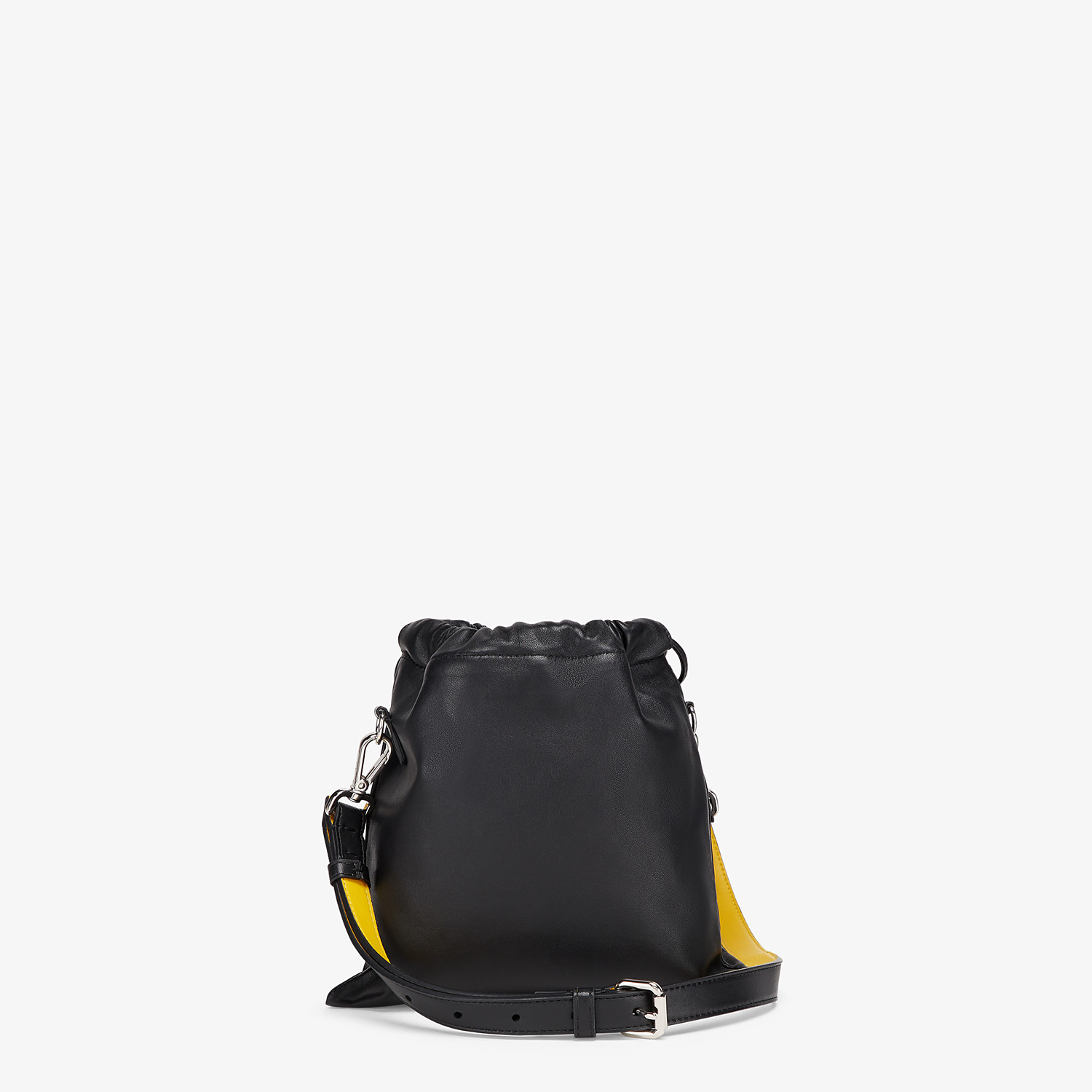 FENDI FENDI PACK SMALL POUCH - Black nappa leather bag - view 3 detail