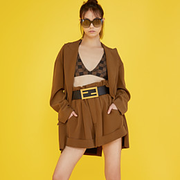 FENDI FENDI DAWN - Gradient effect injection-moulded sunglasses with FF logo - view 4 thumbnail