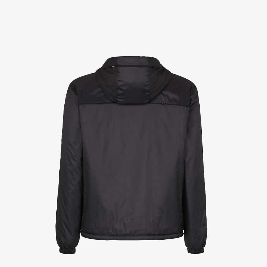 FENDI WINDBREAKER - Light blue nylon jacket - view 2 detail