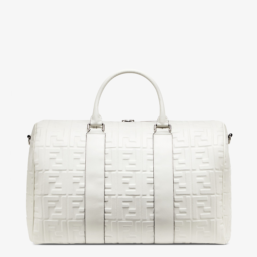 FENDI SATCHEL - Fendi Prints On nappa leather holdall - view 3 detail