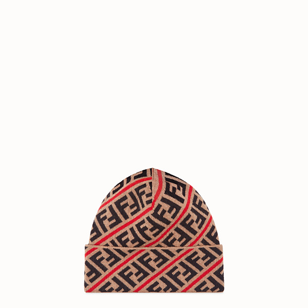 FENDI HAT - Multicoloured wool hat - view 1 small thumbnail