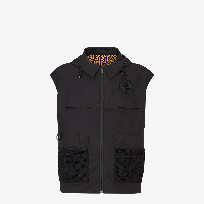 FENDI WINDBREAKER - Multicolour nylon jacket - view 5 detail