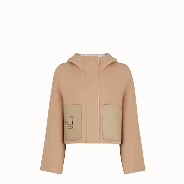 FENDI JACKET - Wool beige jacket - view 1 small thumbnail