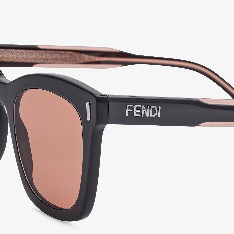 FENDI FENDI - Gray sunglasses - view 3 detail