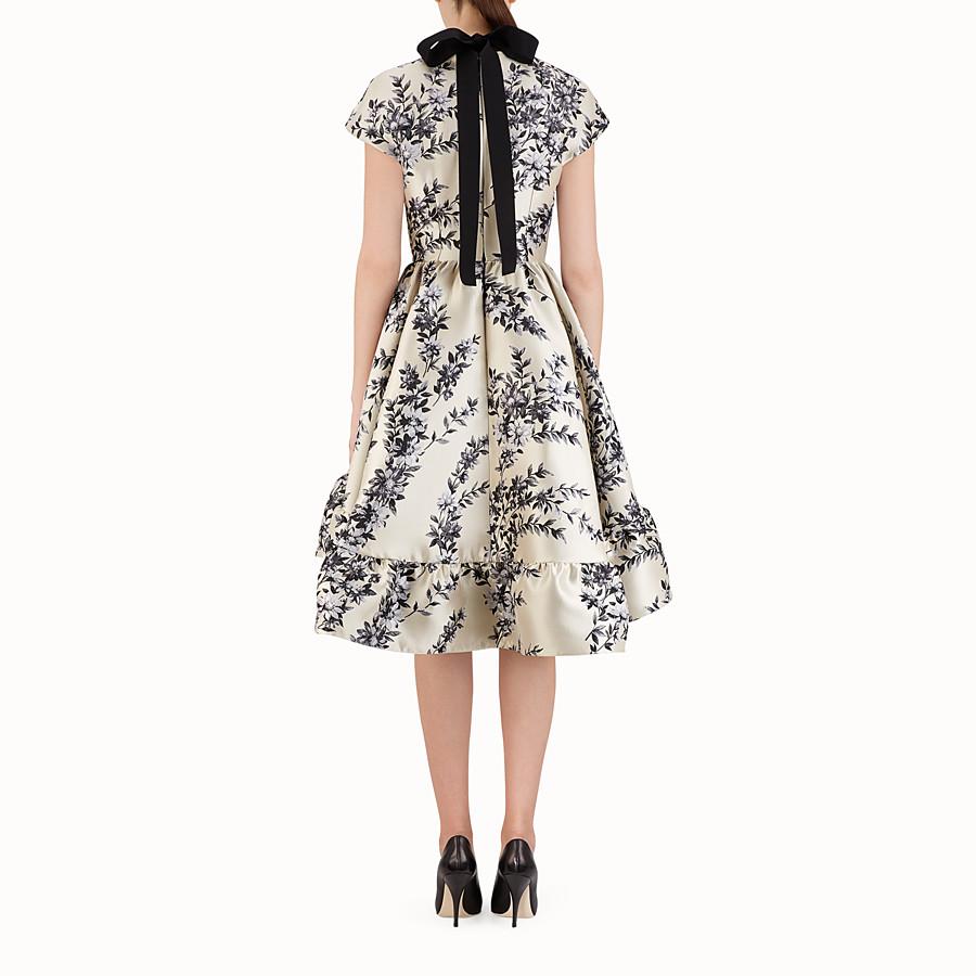FENDI SHORT DRESS - Multicolour silk dress - view 2 detail