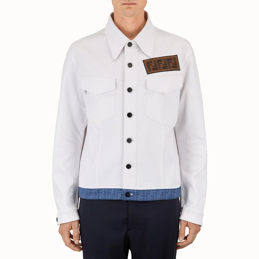 FENDI 外套 - 白色帆布外套 - view 1 detail