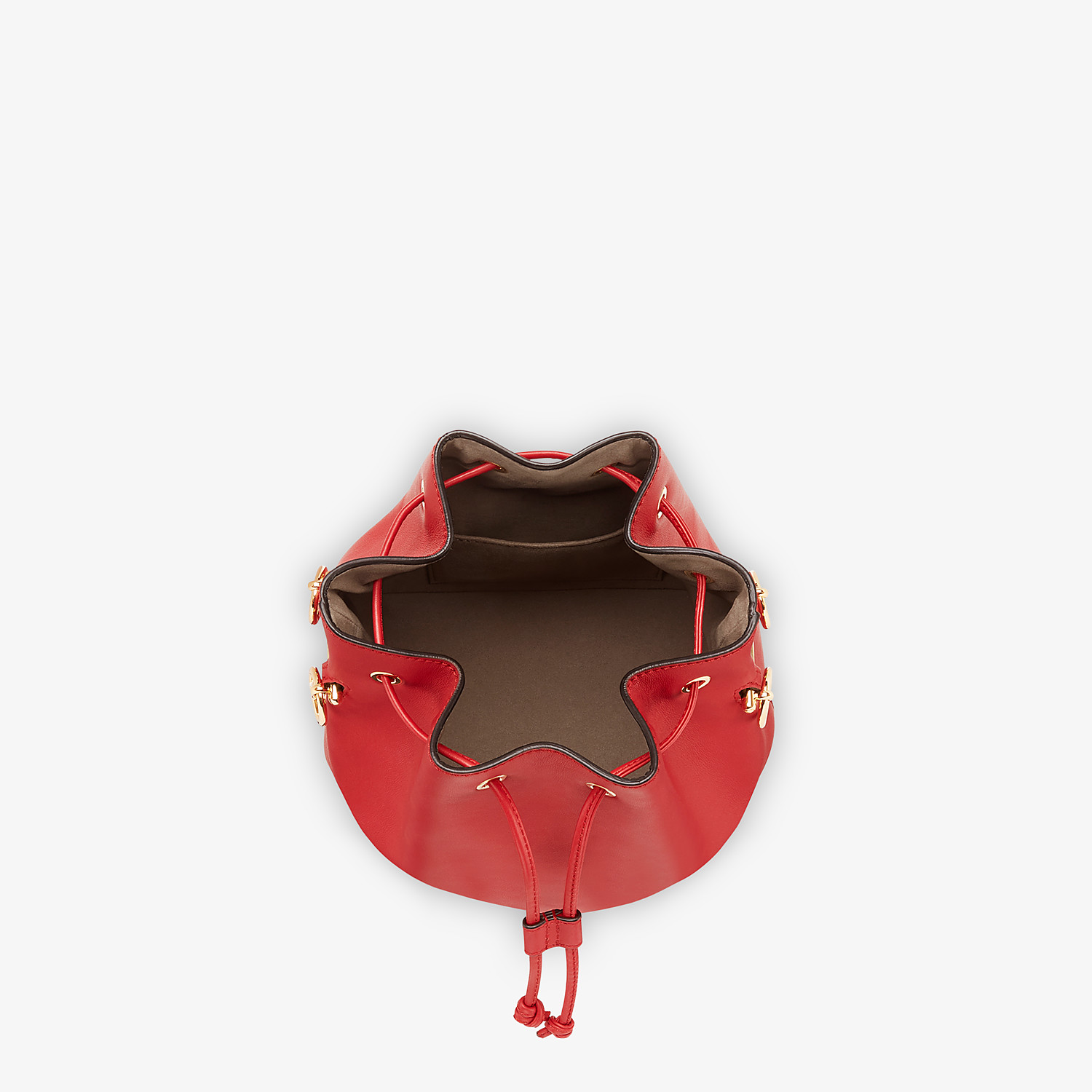 FENDI MON TRESOR - Red leather mini-bag - view 4 detail