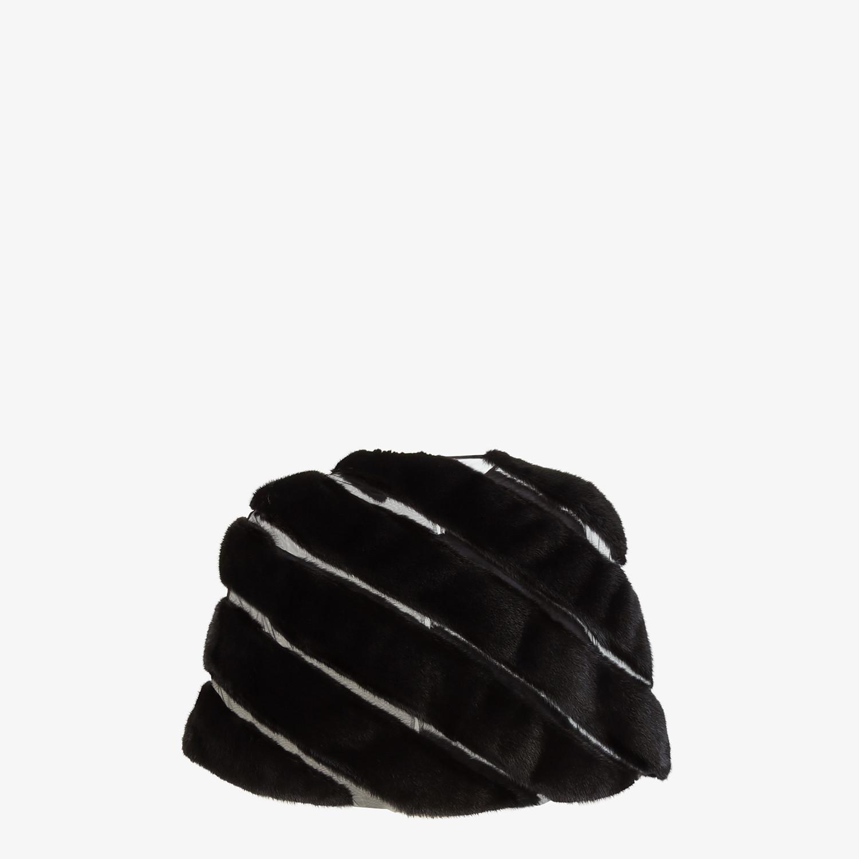 FENDI CAPE - Black mink cape - view 2 detail