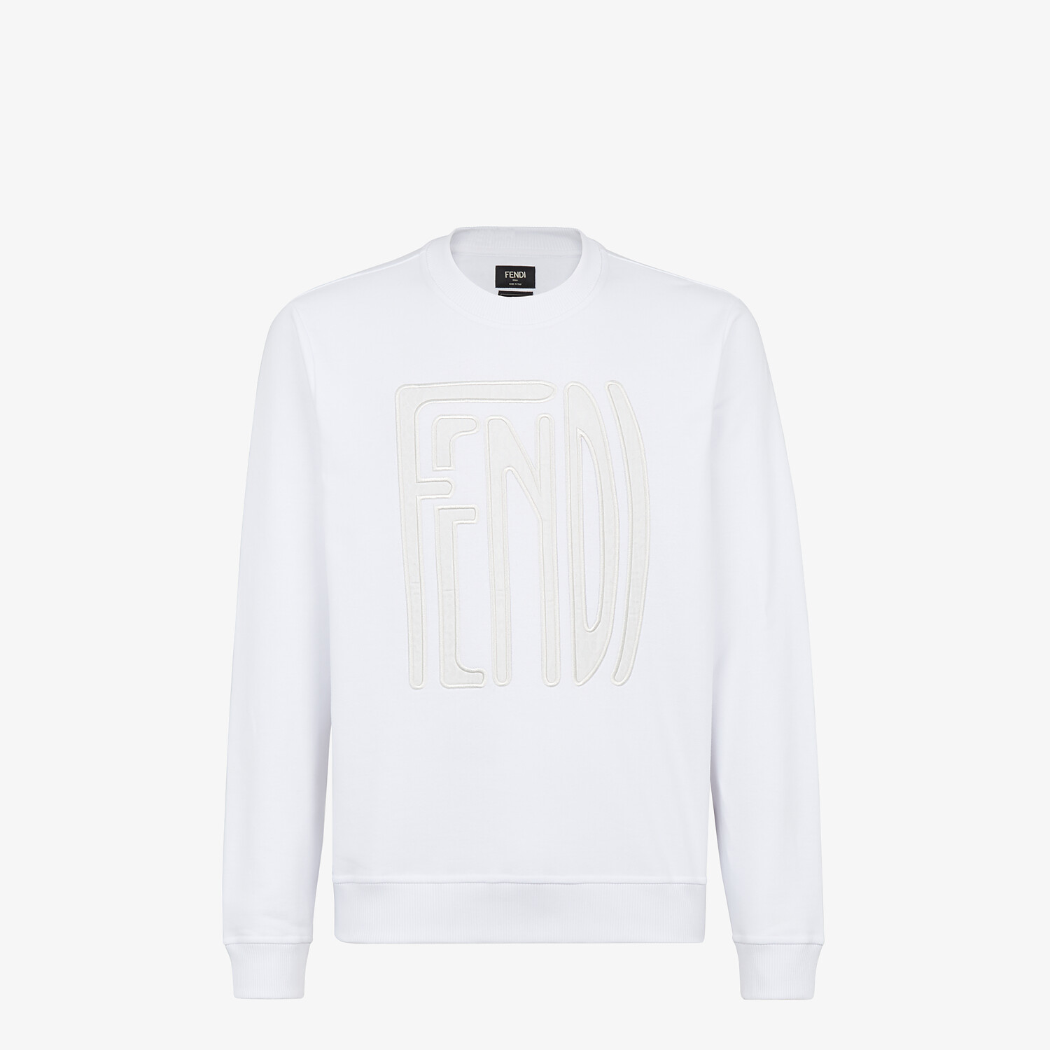 FENDI SWEATSHIRT - Fendi X Anrealage cotton sweatshirt - view 1 detail