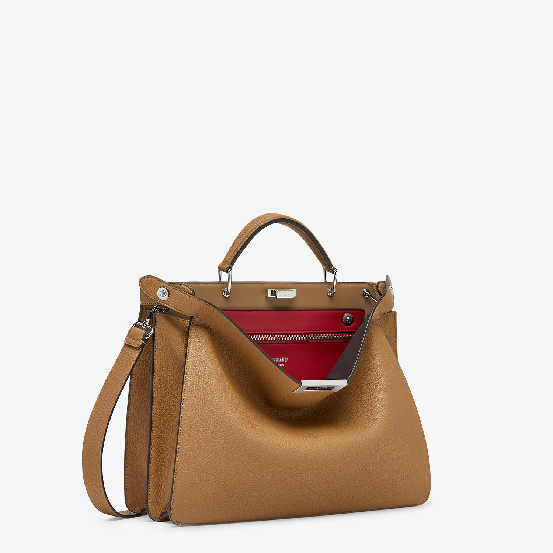 FENDI PEEKABOO ISEEU MEDIUM - Beige leather bag - view 3 detail