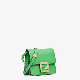 FENDI FENDI FAB - Green leather small bag - view 3 thumbnail