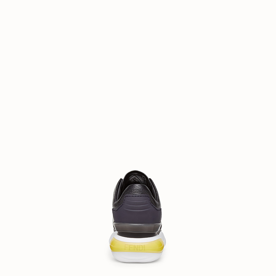 FENDI SNEAKERS - Multicolour leather sneakers - view 3 detail