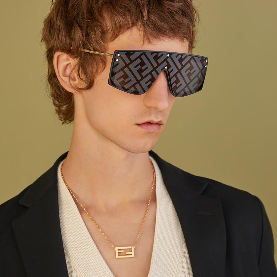 FENDI FENDI FABULOUS - Blue sunglasses - view 4 detail