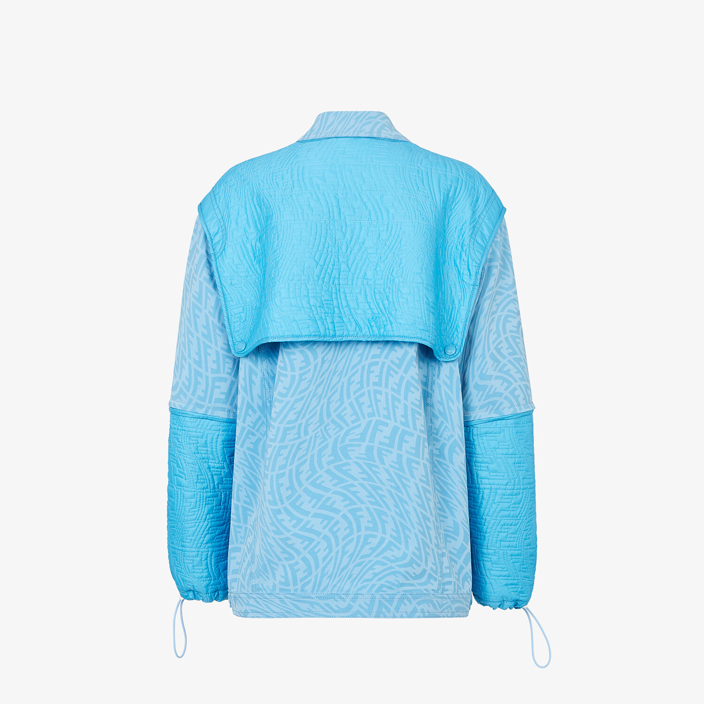 FENDI JACKET - Light blue denim jacket - view 2 detail