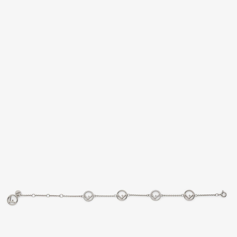 FENDI F IS FENDI BRACELET - Palladium-colored bracelet - view 1 detail