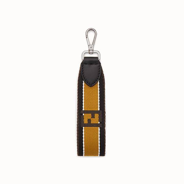 FENDI KEY RING - Multicolour fabric key ring - view 1 small thumbnail