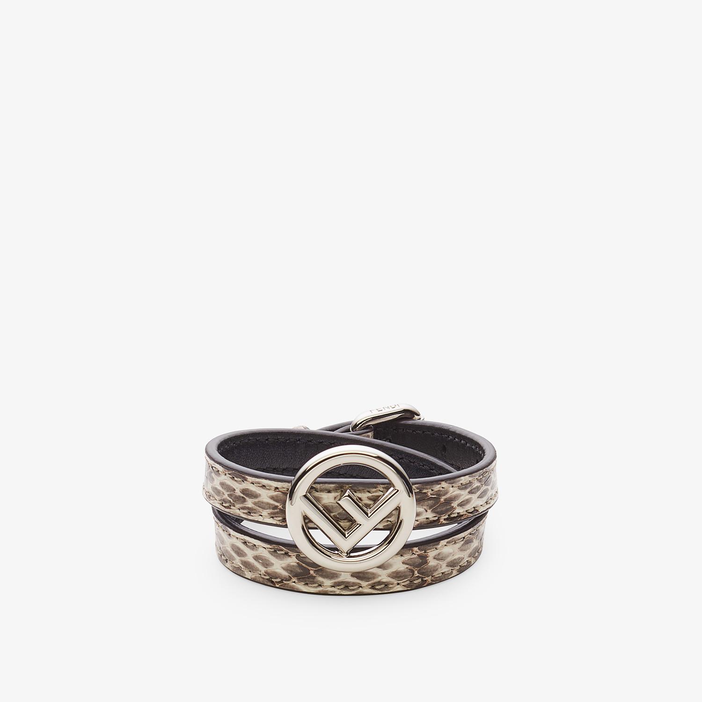 FENDI F IS FENDI BRACELET - Beige bracelet - view 1 detail