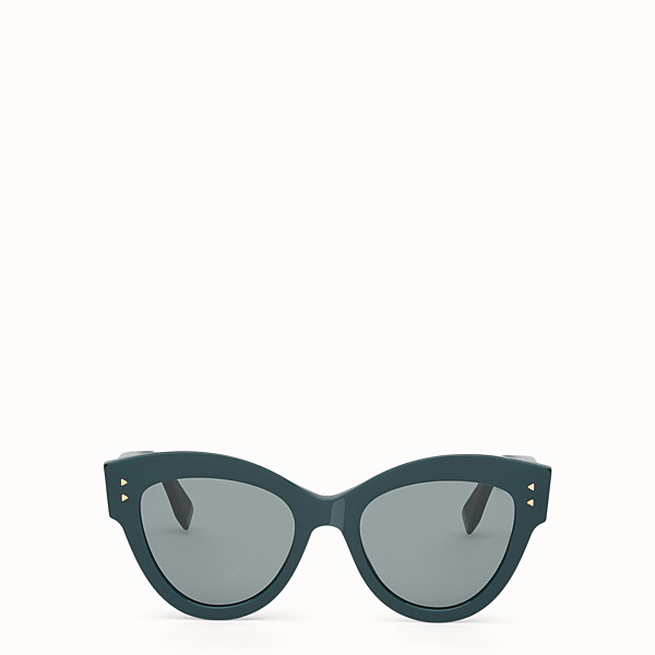 FENDI PEEKABOO - Green sunglasses - view 1 small thumbnail