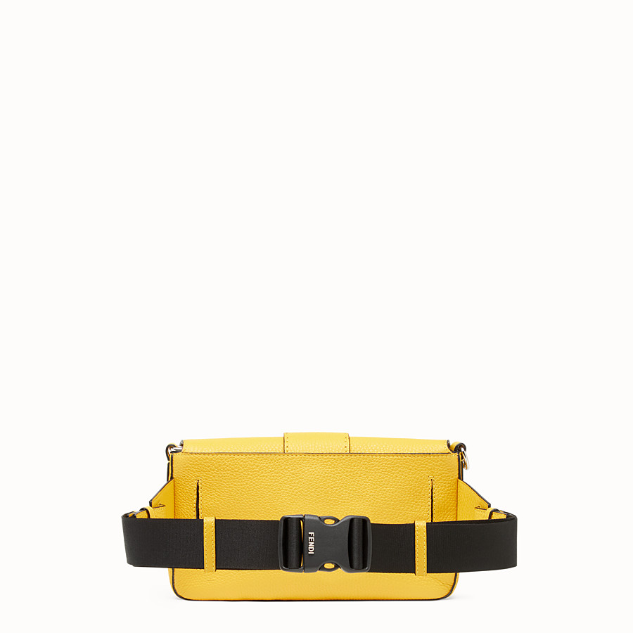FENDI BAGUETTE - Yellow leather bag - view 3 detail