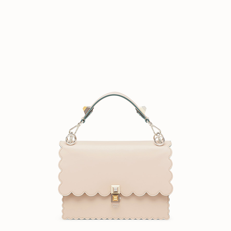 FENDI KAN I - Sac en cuir rose - view 1 detail