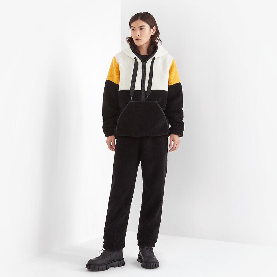 FENDI PANTS - Black wool pants - view 4 detail