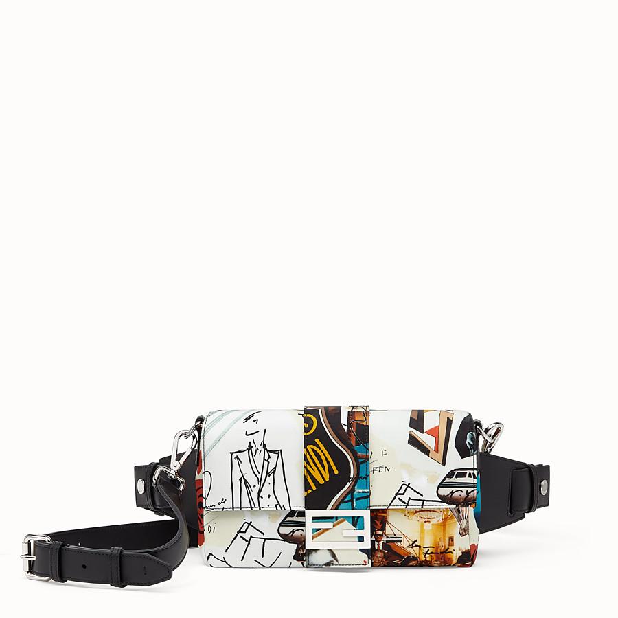 FENDI BAGUETTE - Tasche aus Nylon Mehrfarbig - view 1 detail