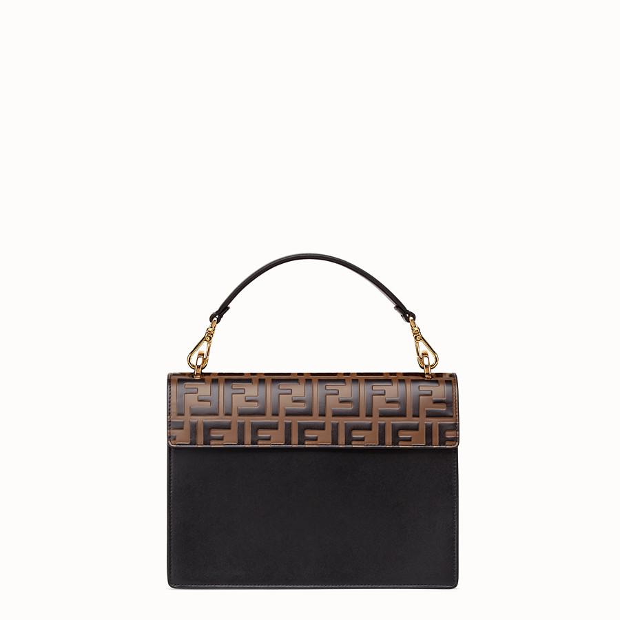FENDI KAN I - Black leather bag - view 3 detail