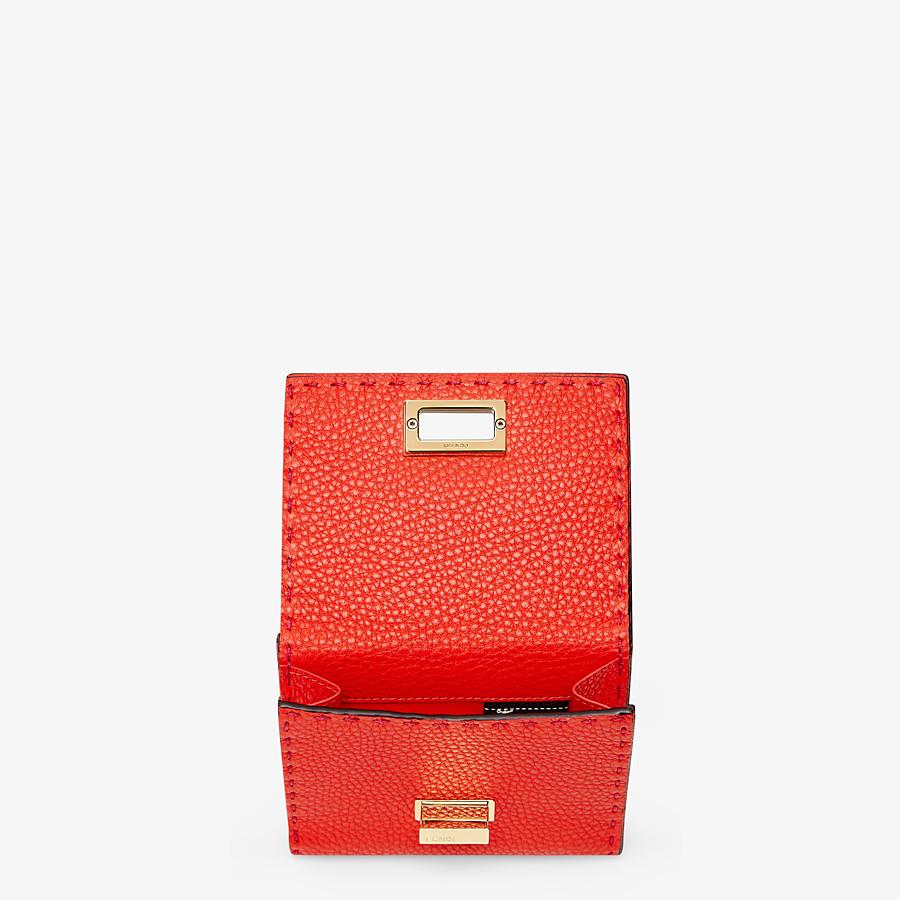 FENDI CONTINENTAL MEDIUM - Fendi Roma Amor leather wallet - view 3 detail
