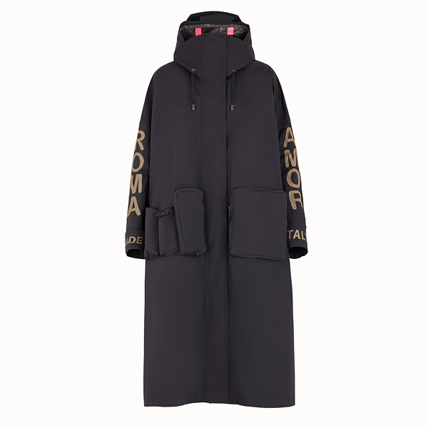 FENDI JACKET - Fendi Roma Amor tech fabric parka - view 1 small thumbnail