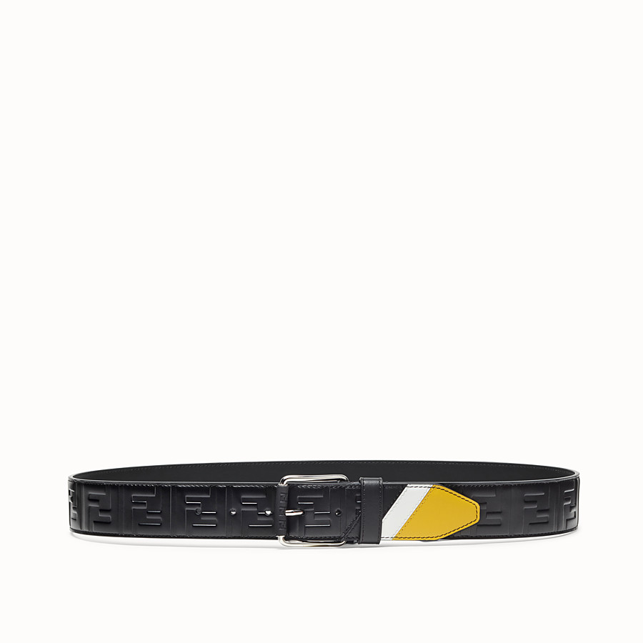 FENDI BELT - Multicolour leather belt - view 1 detail