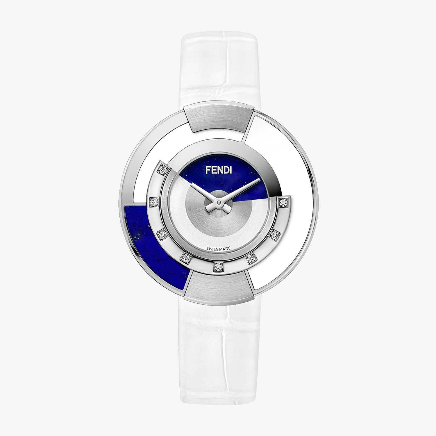 FENDI POLICROMIA - 38 mm - Watch with diamonds and genuine stones - view 1 detail