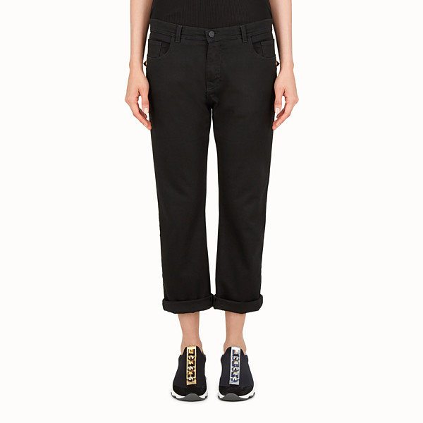 FENDI PANTALON - jean noir Gold Edition - view 1 small thumbnail