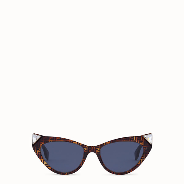 FENDI IRIDIA - FF Sonnenbrille in Havannabraun - view 1 small thumbnail