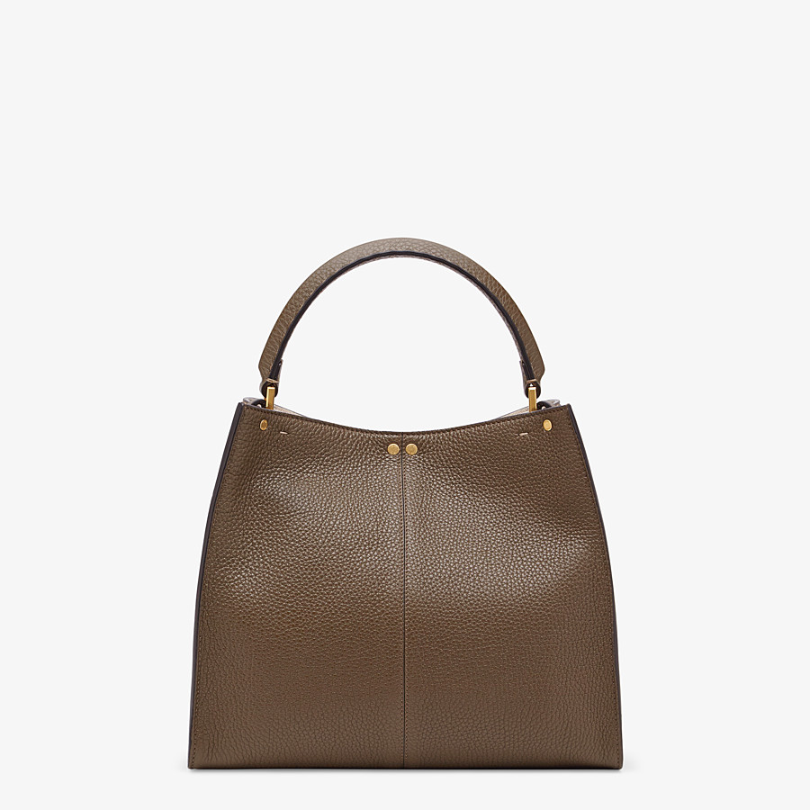 FENDI PEEKABOO X-LITE MEDIUM - Brown Selleria bag - view 4 detail