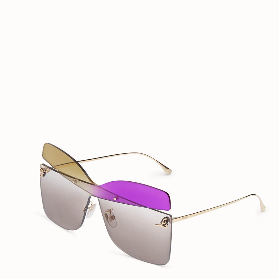 FENDI KARLIGRAPHY - Fashion Show Sunglasses - view 2 detail