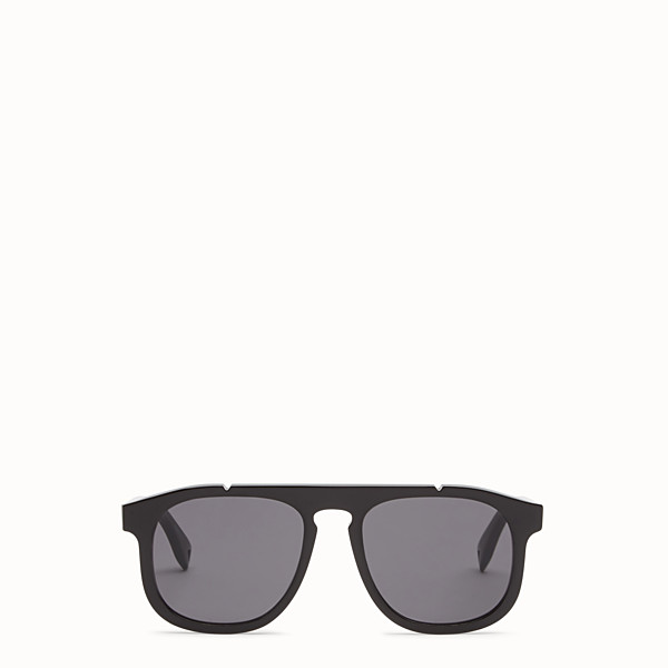 FENDI FENDI ANGLE - Black sunglasses - view 1 small thumbnail