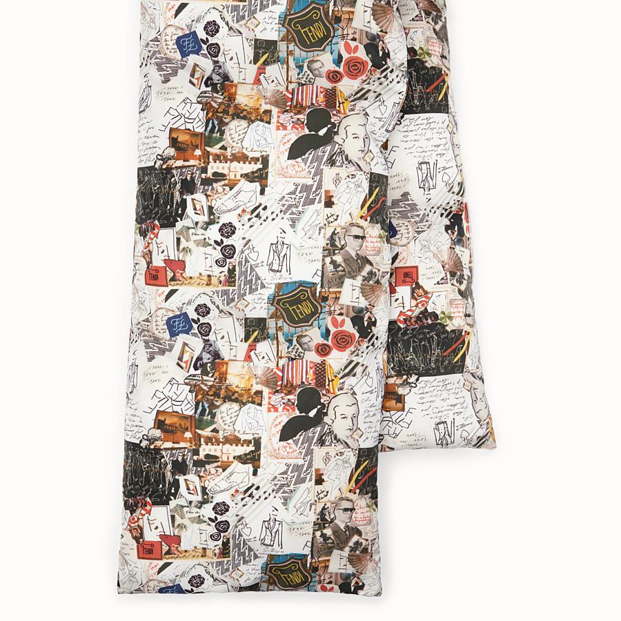 FENDI SCARF - Multicolour nylon scarf - view 2 detail