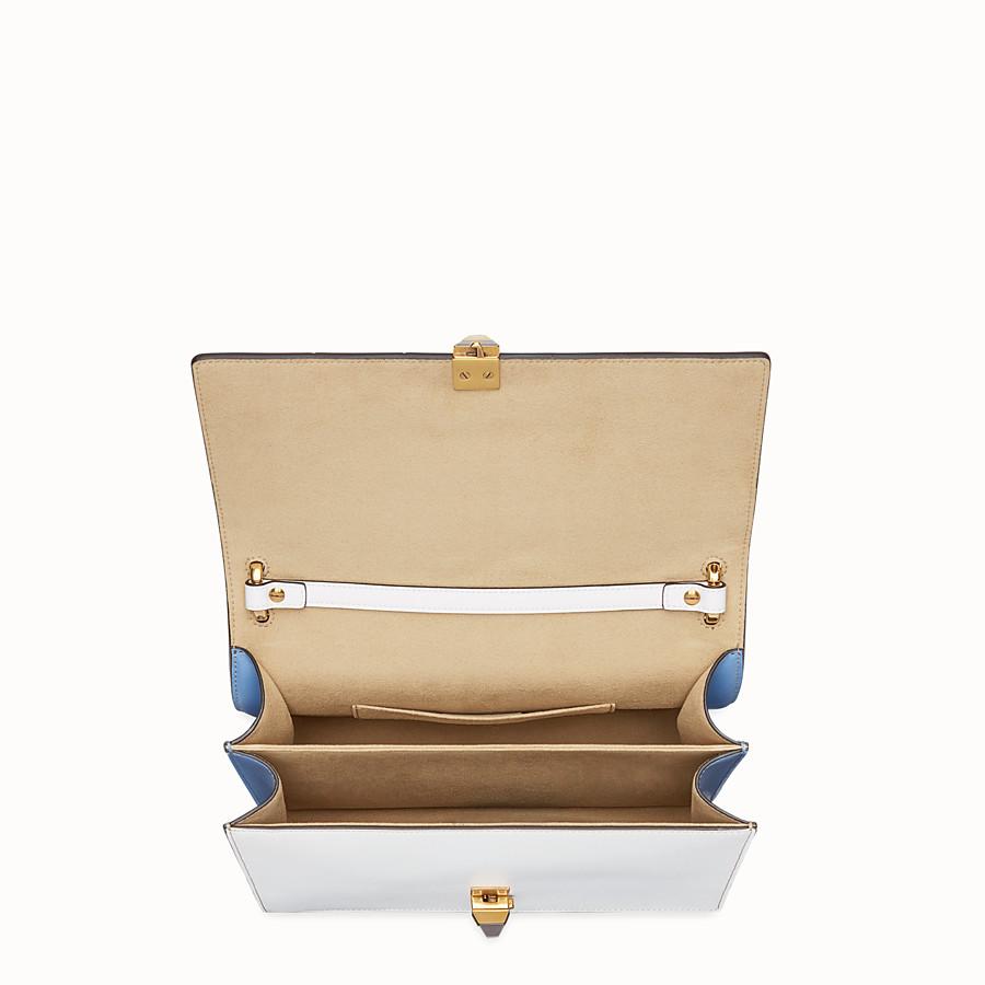 FENDI KAN I - Multicolour leather bag - view 4 detail