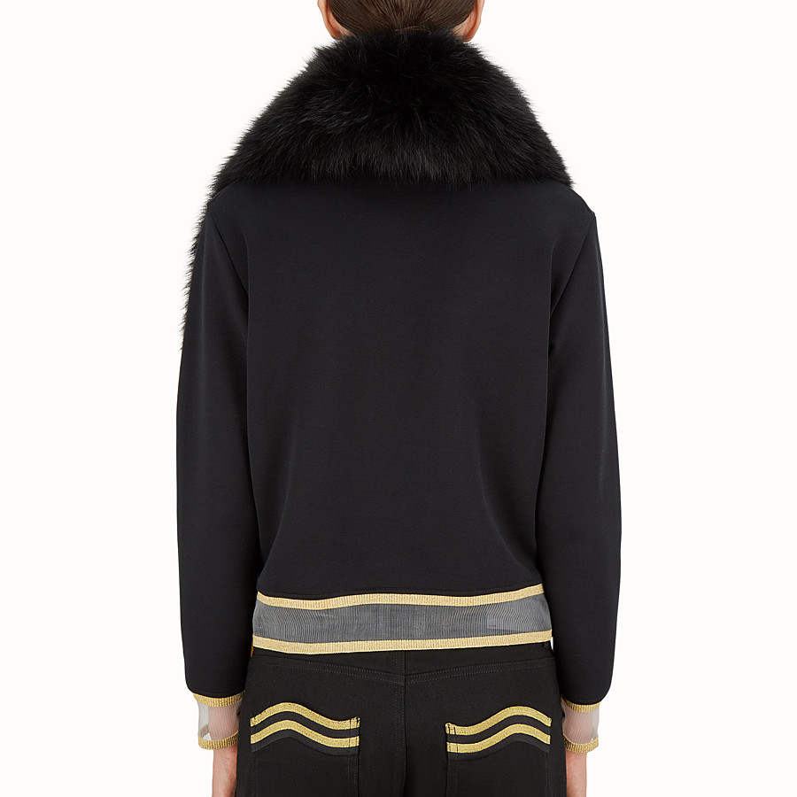 FENDI COLLAR - Gold Edition fur collar - view 4 detail