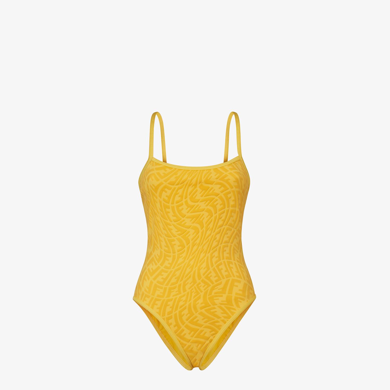 FENDI COSTUME INTERO - Costume in Lycra® gialla - vista 1 dettaglio